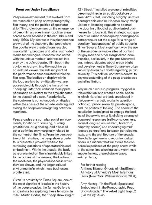 Curator Statement